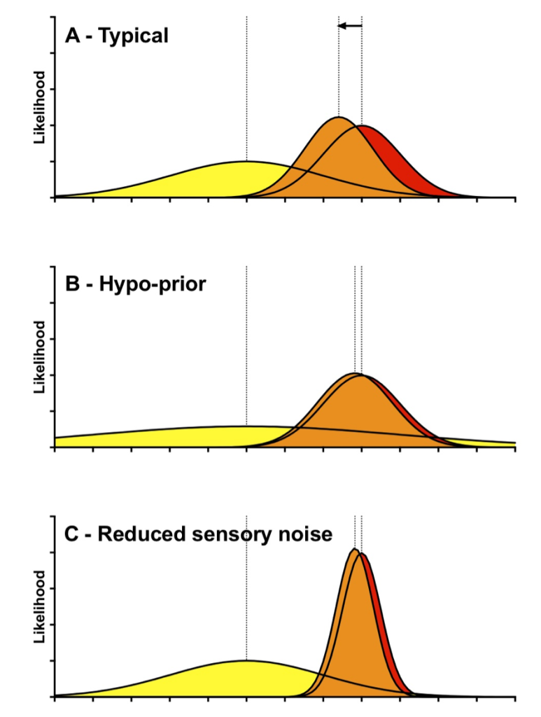 Bayesian Accounts of Autistic Perception
