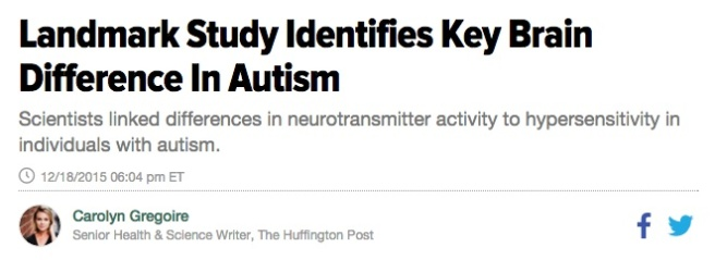 How can I make autism an argument?