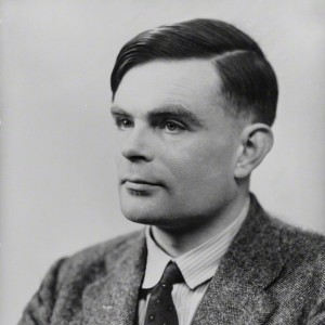 NPG x82217; Alan Mathison Turing by Elliott & Fry